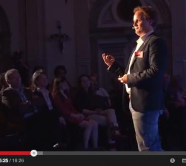 Lucas bij TedX Haarlem, 23 mei 2013