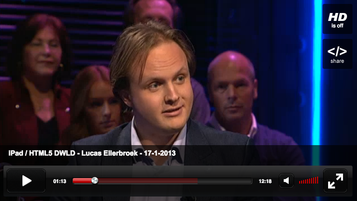 Lucas bij De Wereld Leert Door, 17 januari 2013