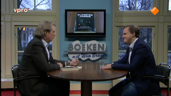 Lucas bij VPRO Boeken (Wim Brands), 8 februari 2015